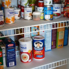 Kitchen Pantry Organizers Floor Tiles Ideas Organizing The Quick Fix For Wire Shelves Eat At Home