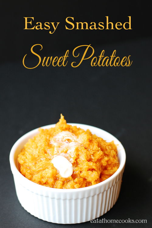 Easy Mashed Sweet Potatoes Eat at Home