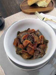 Savory Bacon Pot Roast