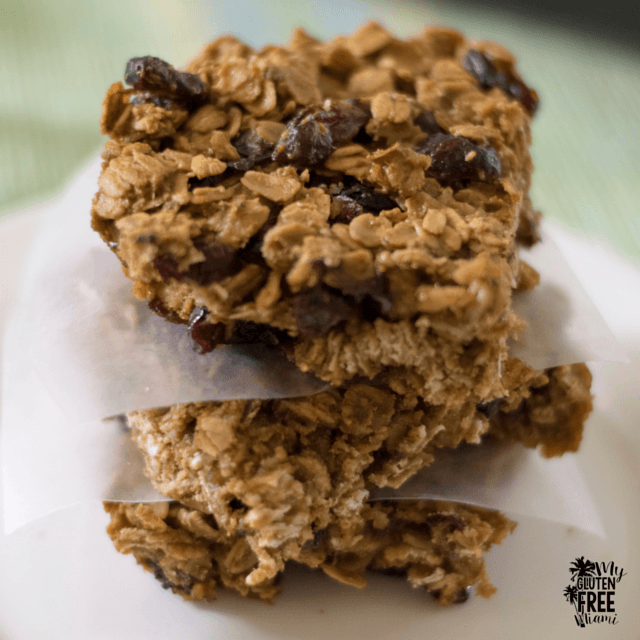 Easy Gluten Free Breakfast Bars