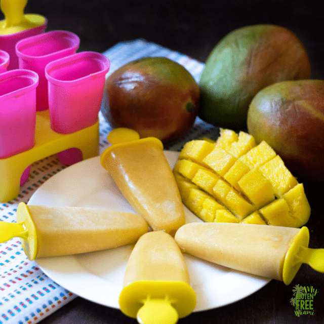 Mango Coconut Creamsicles