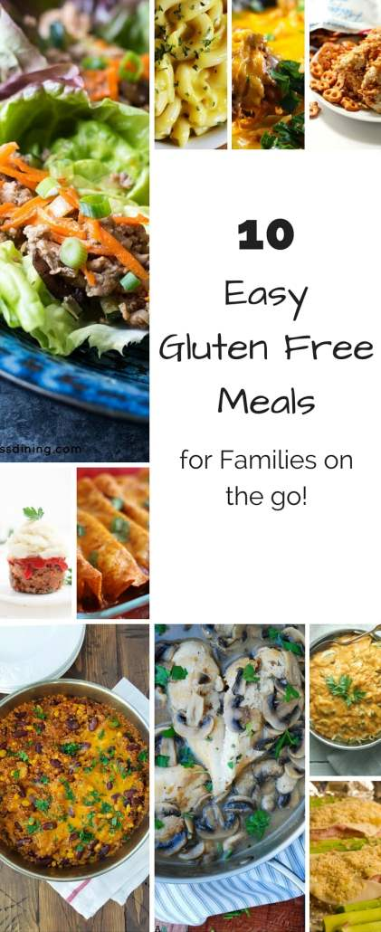 Easy Gluten Free Meals