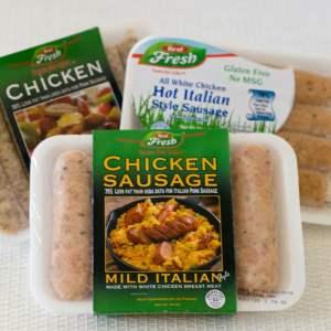 Chicken Sausage Stuffed Acorn Squash | https://eatatourtable.com