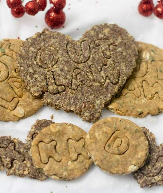 Gluten Free Dog Treats from Backyard Dog Treats