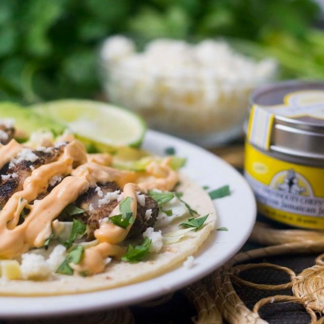 Gluten Free Jamaican Jerk Tacos