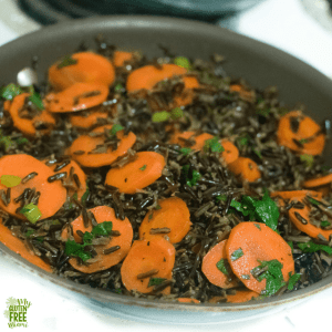 Wild Rice and Carrots