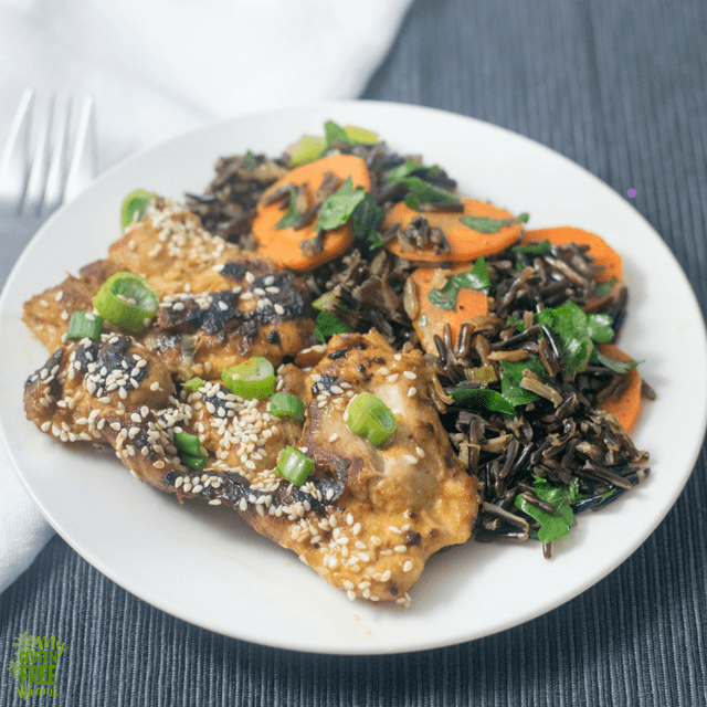 Maple Sesame Glazed Chicken and The Migraine Relief Plan- A Book Review