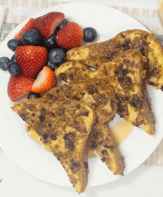 Cookie Crusted French Toast