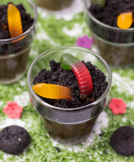 Gluten Free Dirt Cups for Earth Day