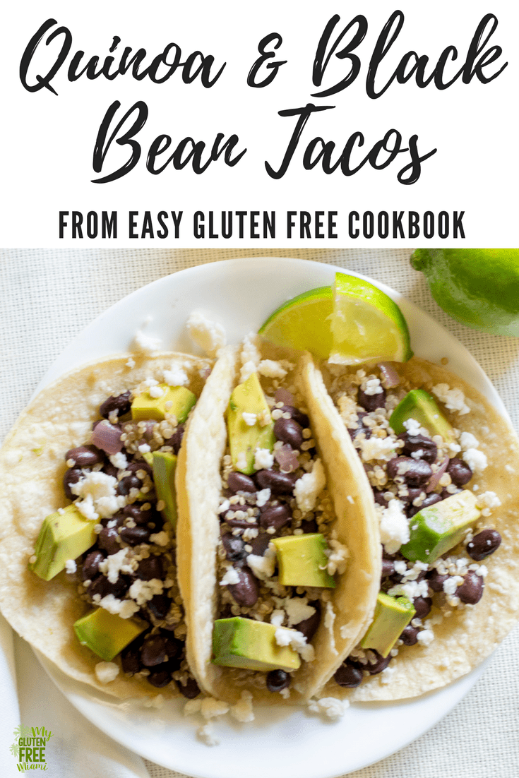 Quinoa and Black Bean Tacos