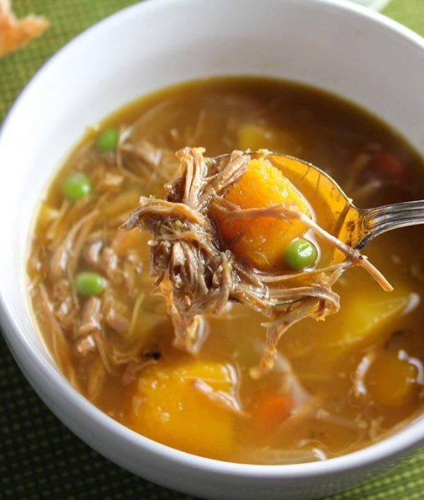 Turkey Butternut Squash Stew