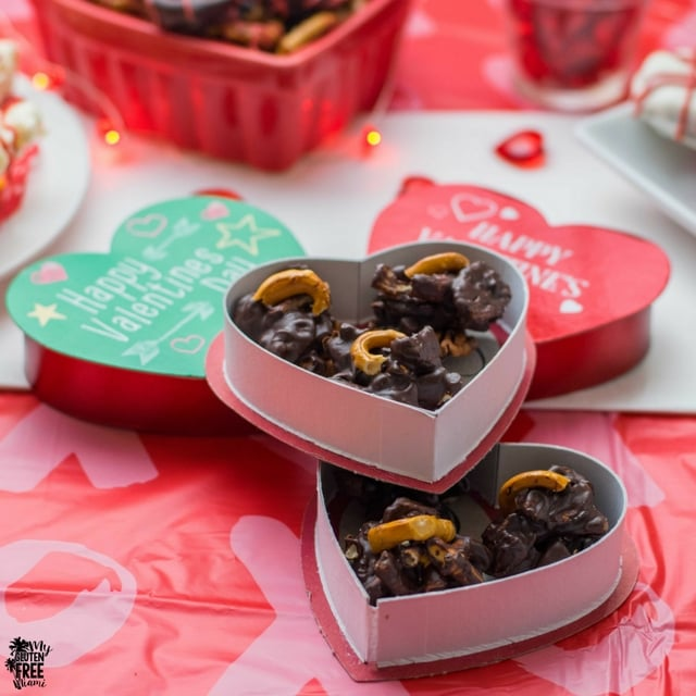 Homemade gluten free chocolates