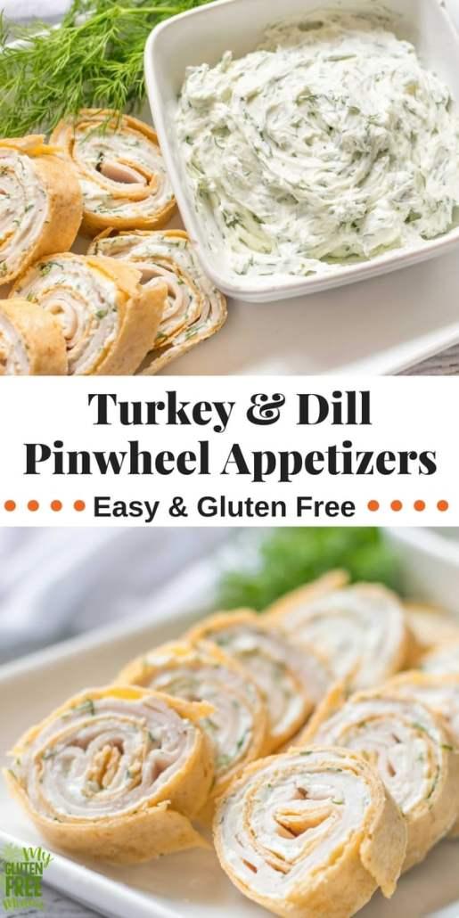 Turkey and dill pinwheel