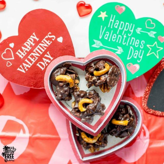 Gluten Free Pecan Pretzel Chocolate