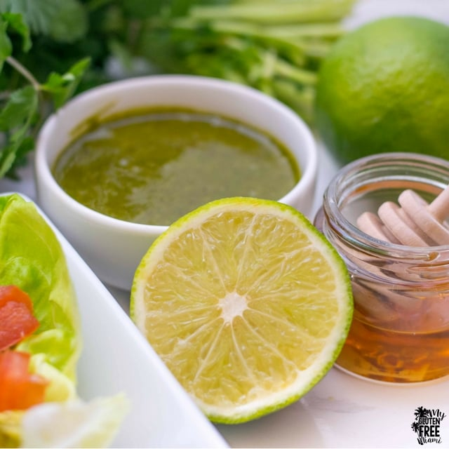 Cilantro Lime Honey Dressing