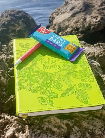 Enjoy Life Chewy Bar by the water