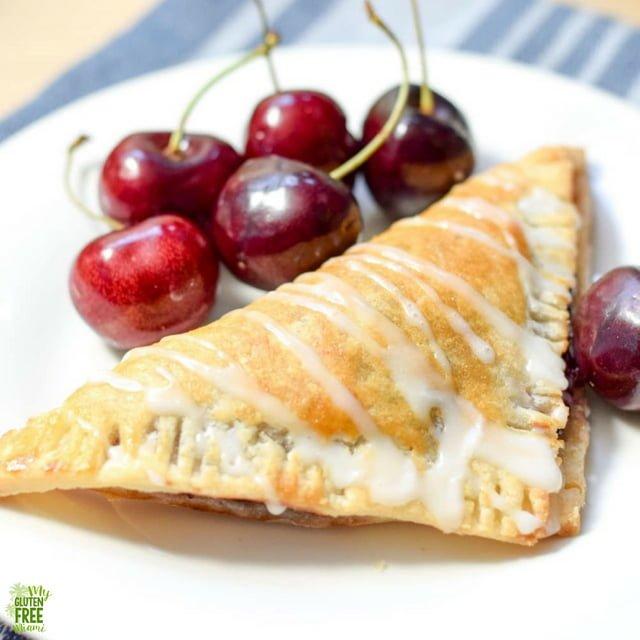 Gluten Free Cherry Turnover