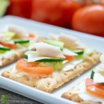 Gluten Free California Turkey Club Flatbread