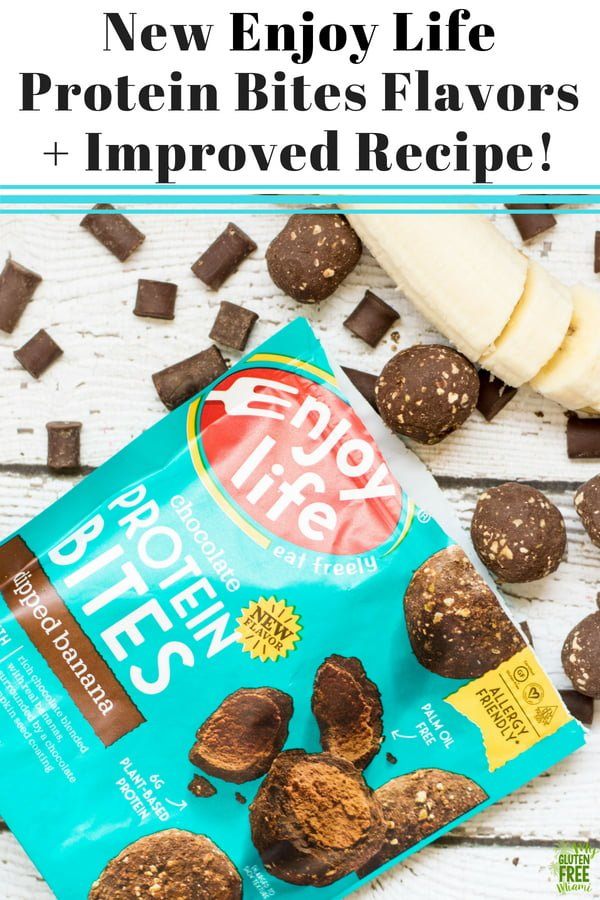 Enjoy Life Foods has done it again, with two brand new, irresistible flavors of their Protein Bites! They are sure to satisfy your chocolate craving and give you that much-needed protein boost!