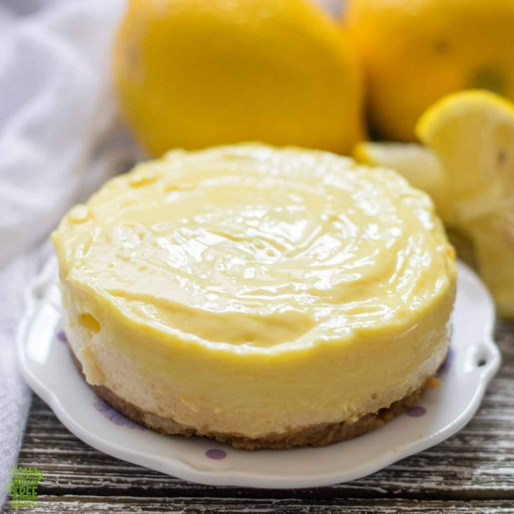 Gluten Free Lemon Cheesecake