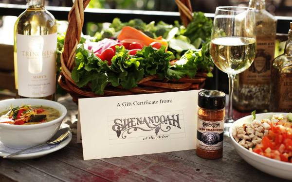 Shenandoah at the Arbor Fine Southern Dining