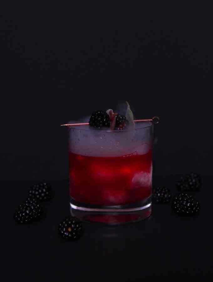 Blackberry and Sage Margarita