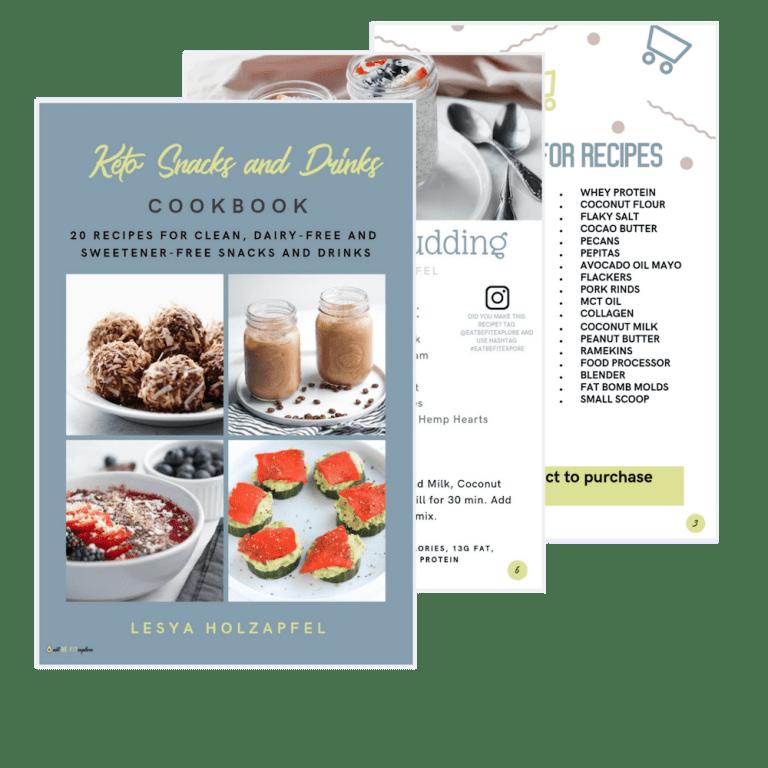 Clean Keto Snack Book