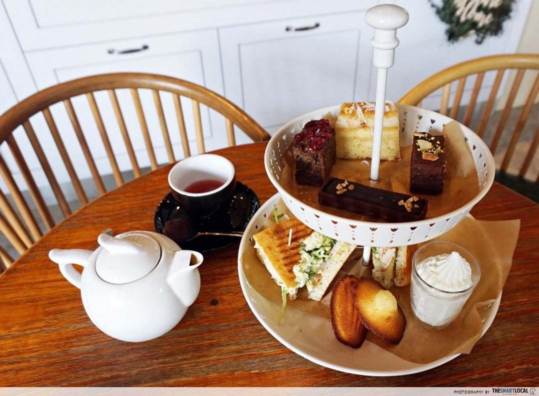 Affordable High Tea - Wildseed Cafe