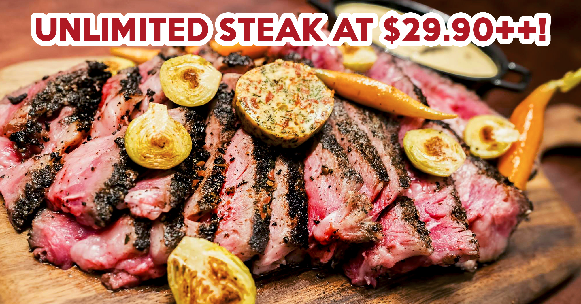 Weekend Steak Buffet At The Armoury Craft Beer Bar For $29.90++