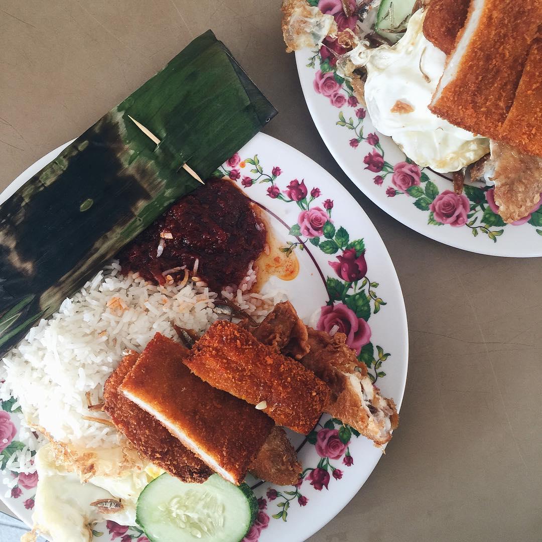 changi village food - international nasi lemak