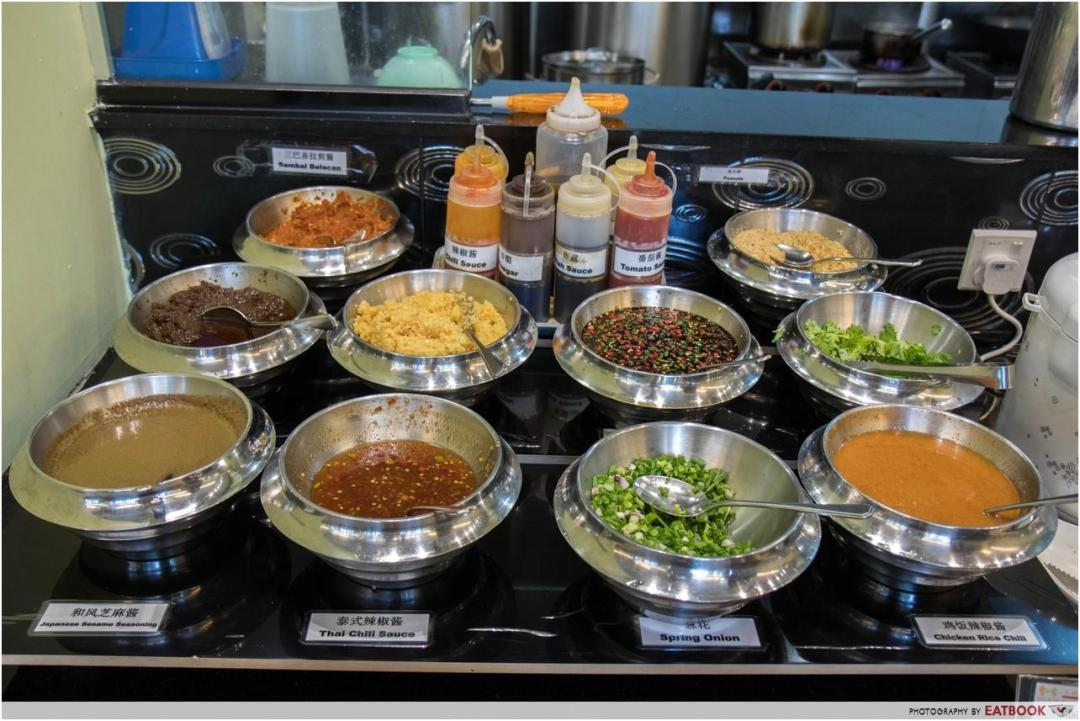 one more steamboat - sauce bar