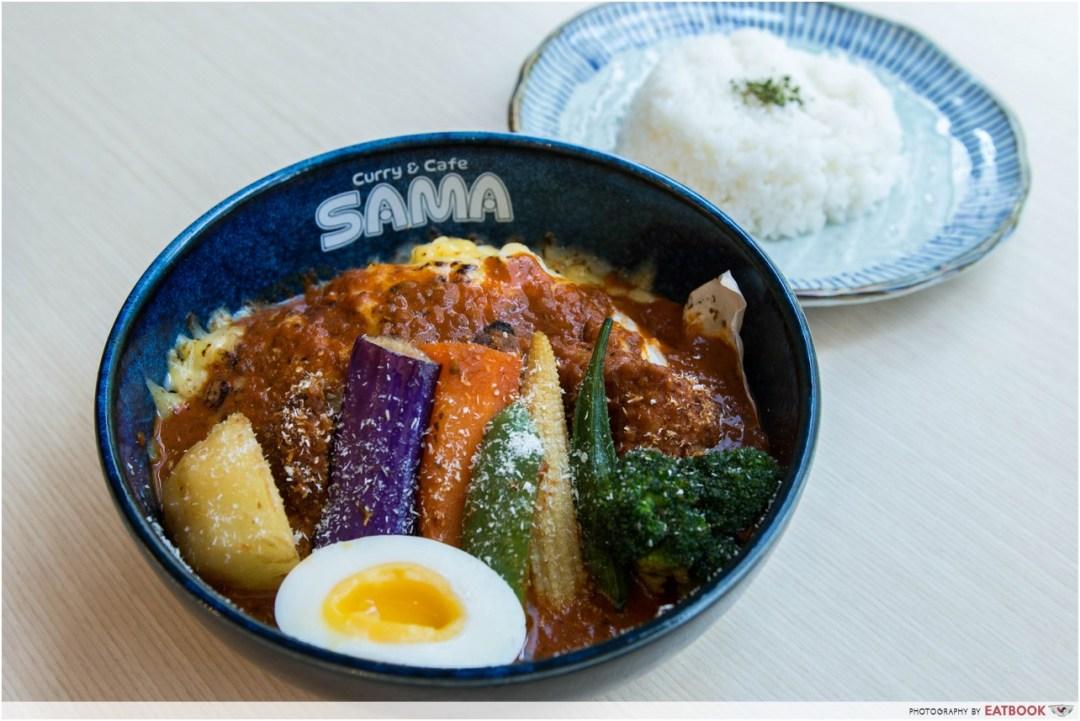 sama curry - cheesy bear