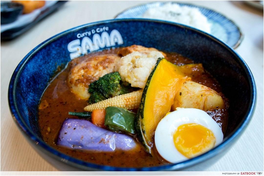 sama curry - hungry bear