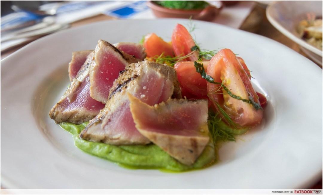 Jamie's Italian - seared tuna