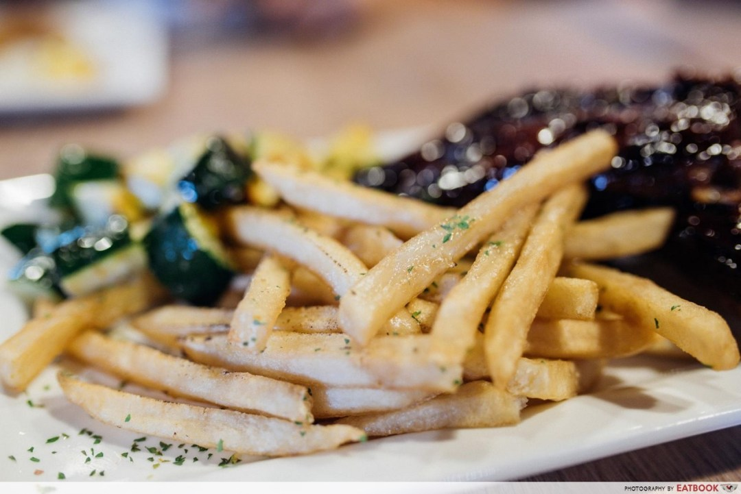 Wicked Grill - fries