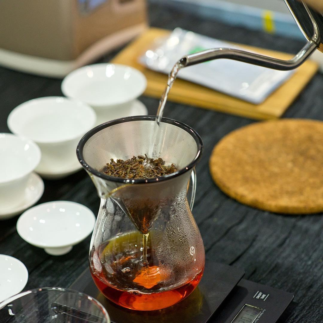 e2i tea masterclass - brewing