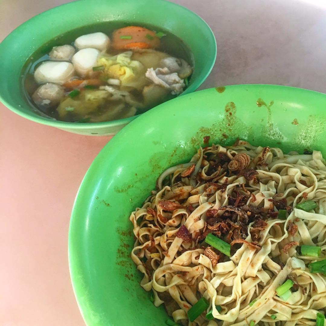 whampoa market - fishball noodles