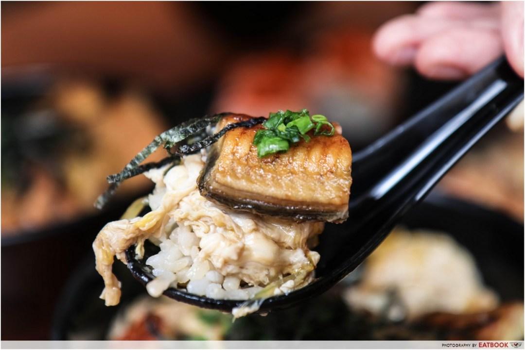 Donya Japanese Cuisine - eel