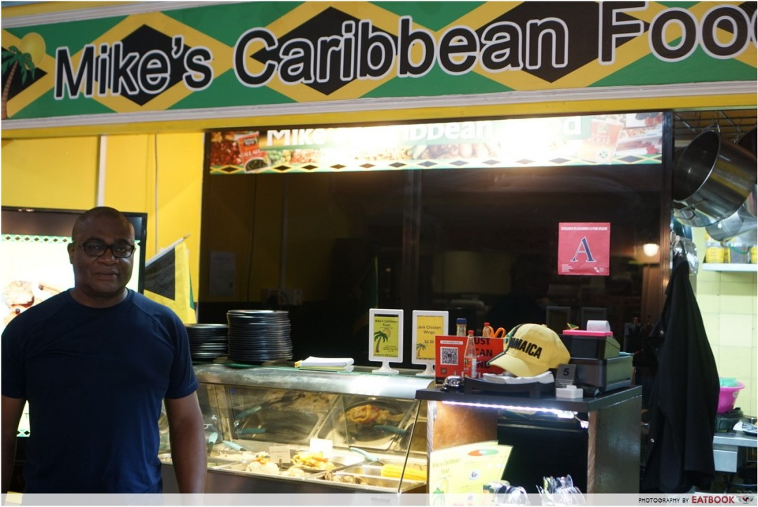 Mike's Caribbean Food - storefront