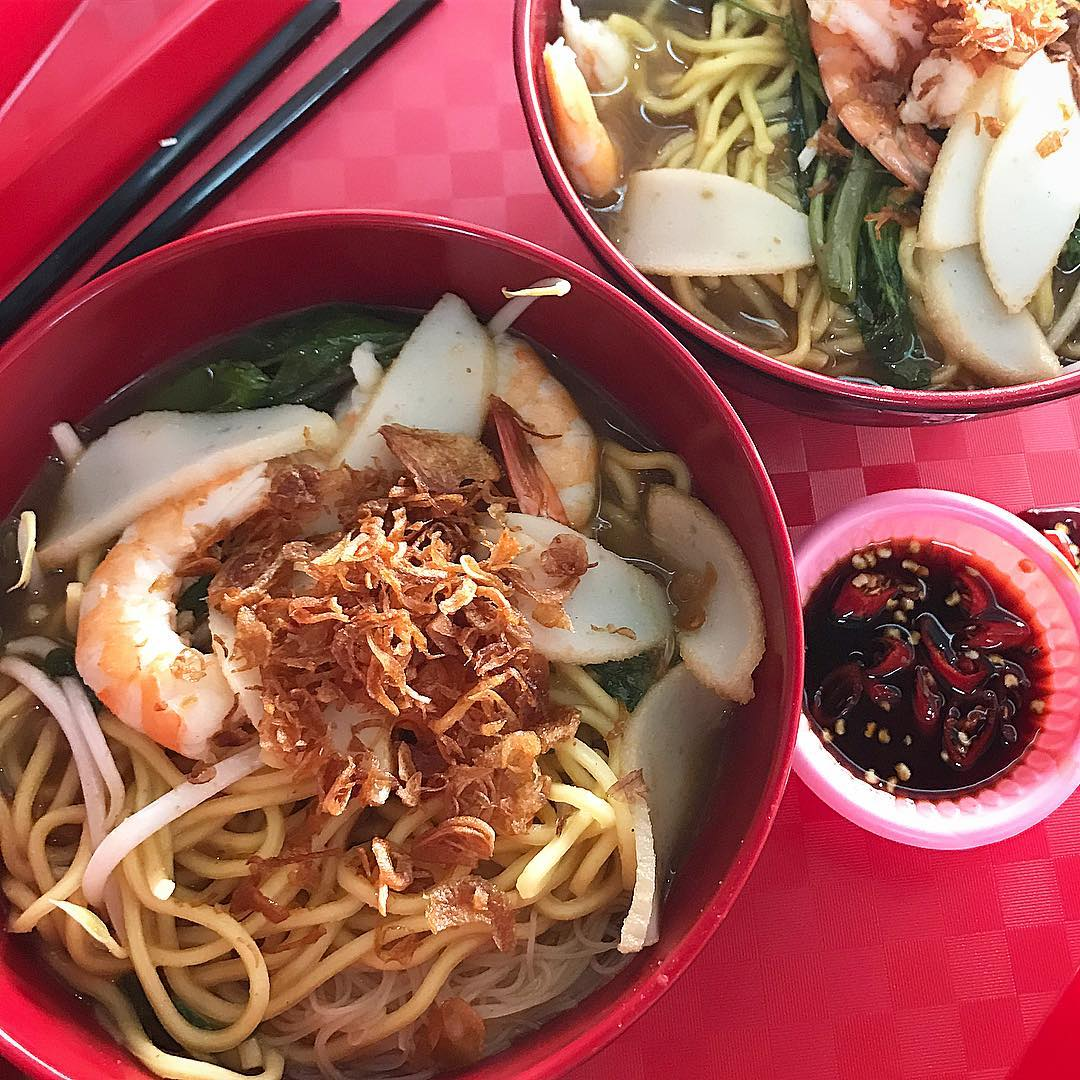 next-level prawn mee - halal prawn mee