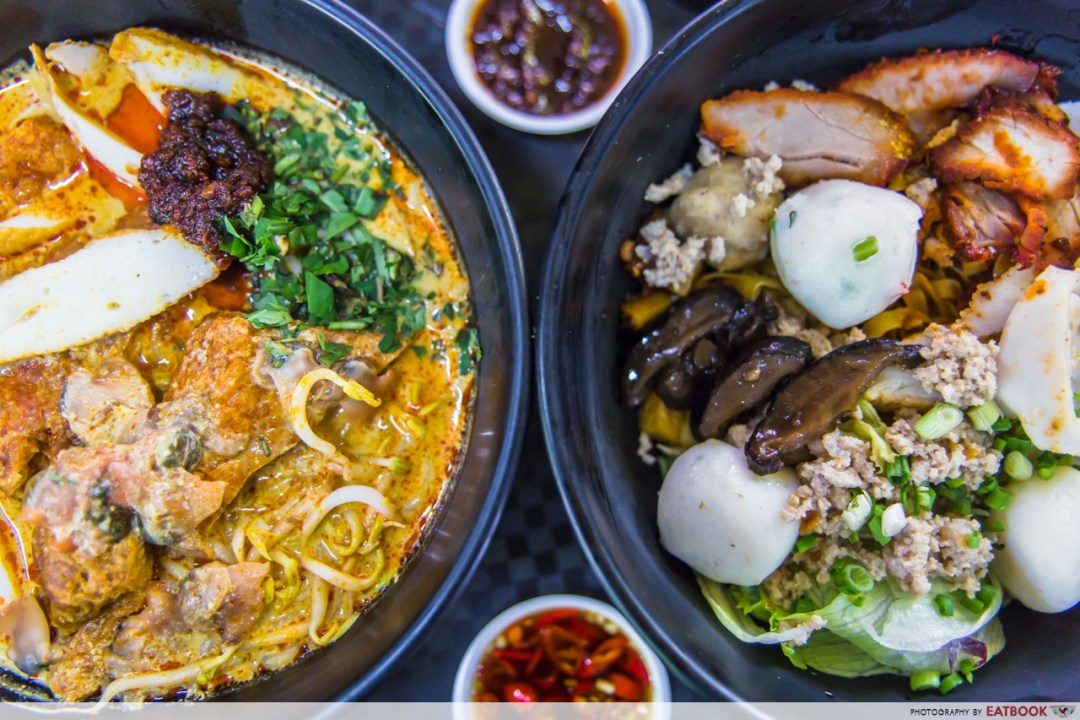 Young hawkers - Yam Mee Noodles