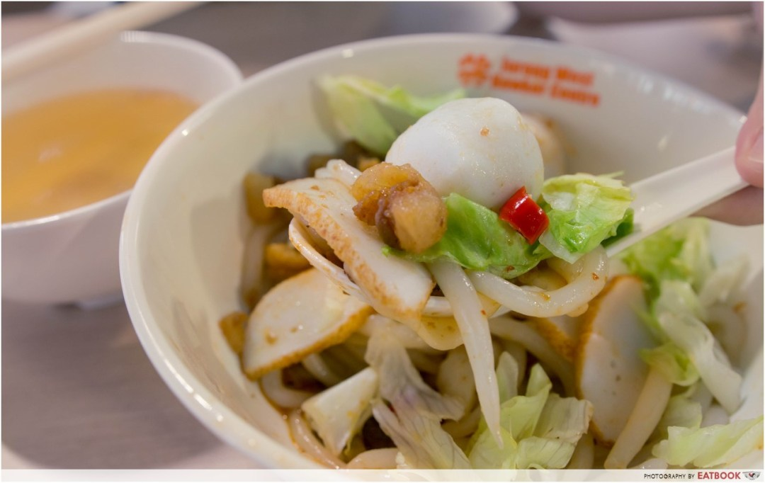 Jurong West Hawker Centre - good luck fishball noodle