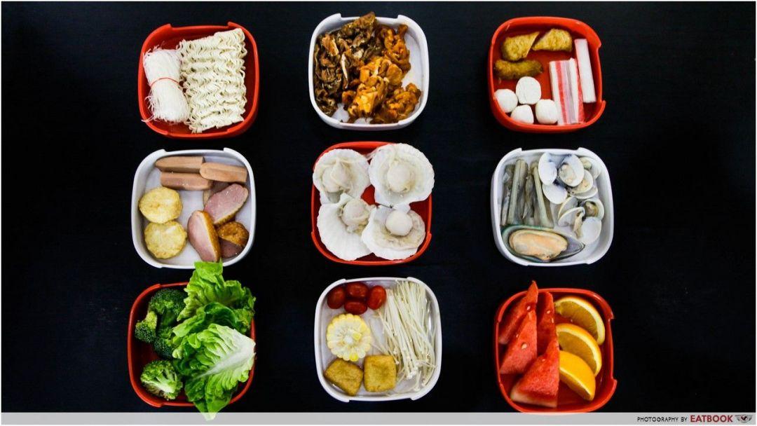 Makan-Makan - Flatlay ingredients