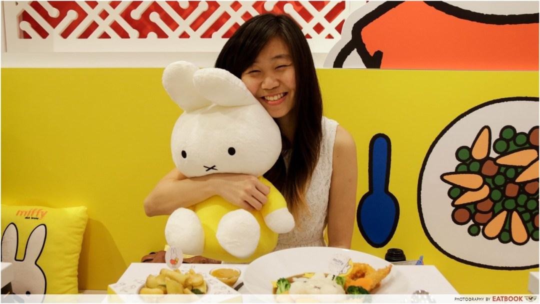 Miffy cafe - miffy bunny