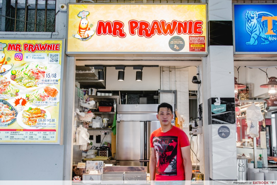 New-generation hawkers - Mr prawnie