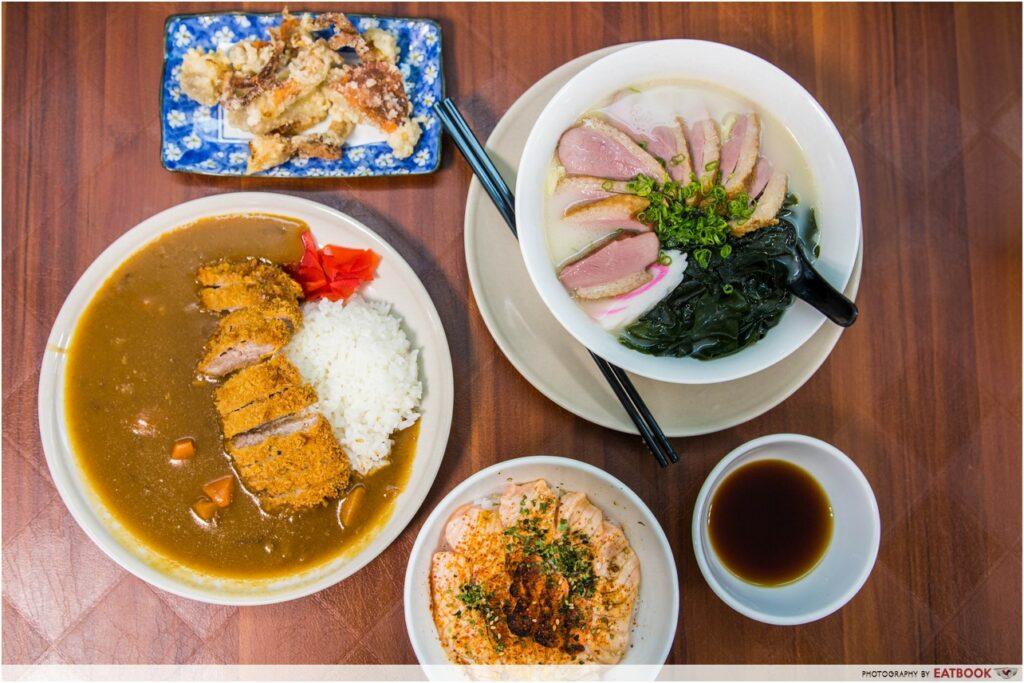 Bencoolen MRT Japanese Curry Express