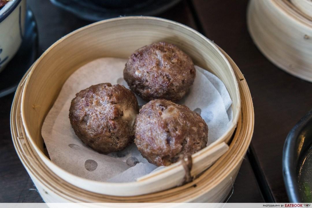 Hong Kong Dessert - Cheese Beef Ball