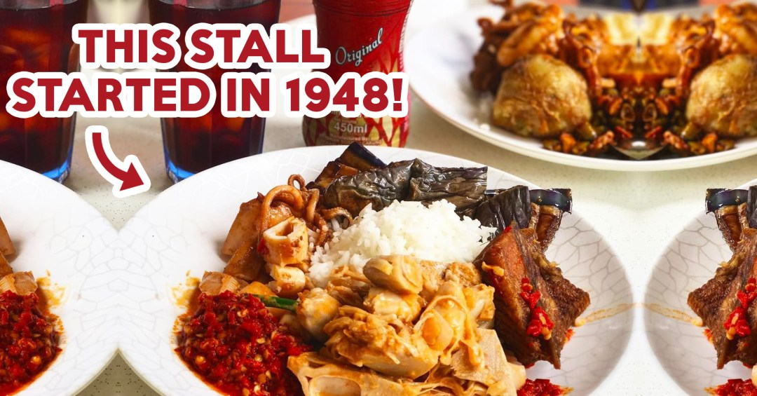 Old school nasi padang stall featured image
