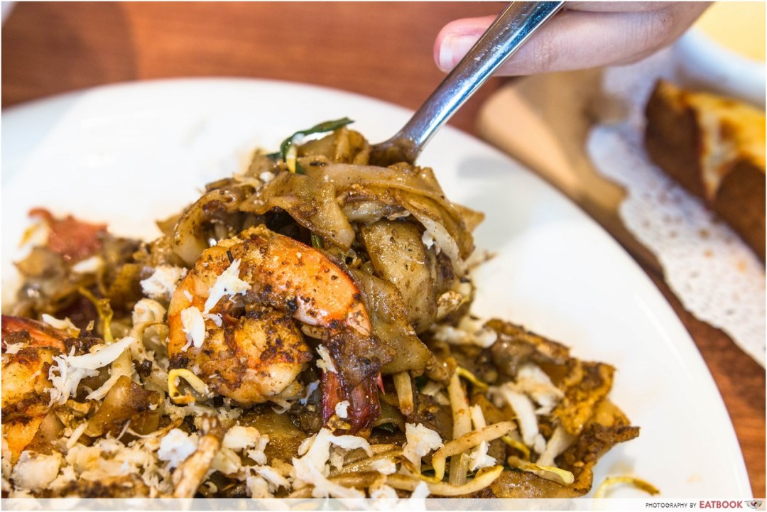 Penang bagus- char kway teow noodles