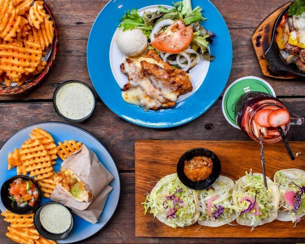 Prettiest Restaurant Storefront UOB YOLO Piedra Negra Food